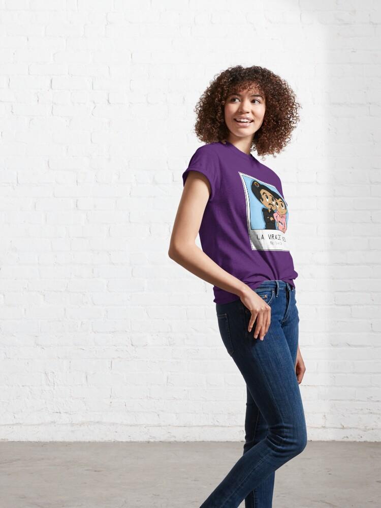 T-shirt classique ''Bigflo et Oli LA VRAIE VIE': autre vue