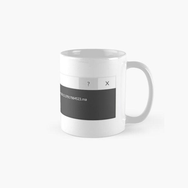 Autodesk Maya Fatal Error Classic Mug