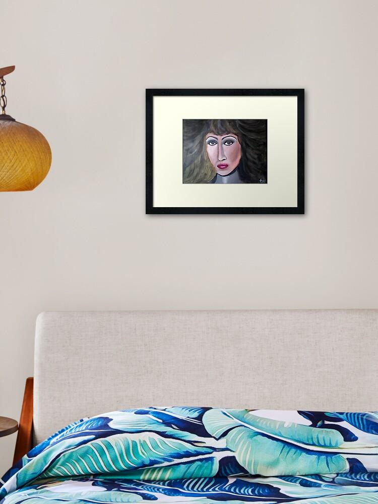 Tina Turner Framed Photo