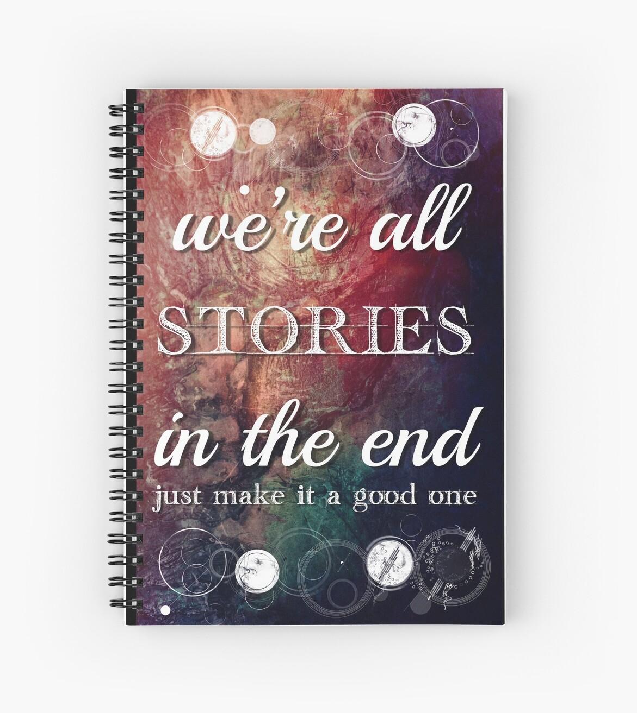 Wir sind alle Geschichten am Ende von scarletprophesy