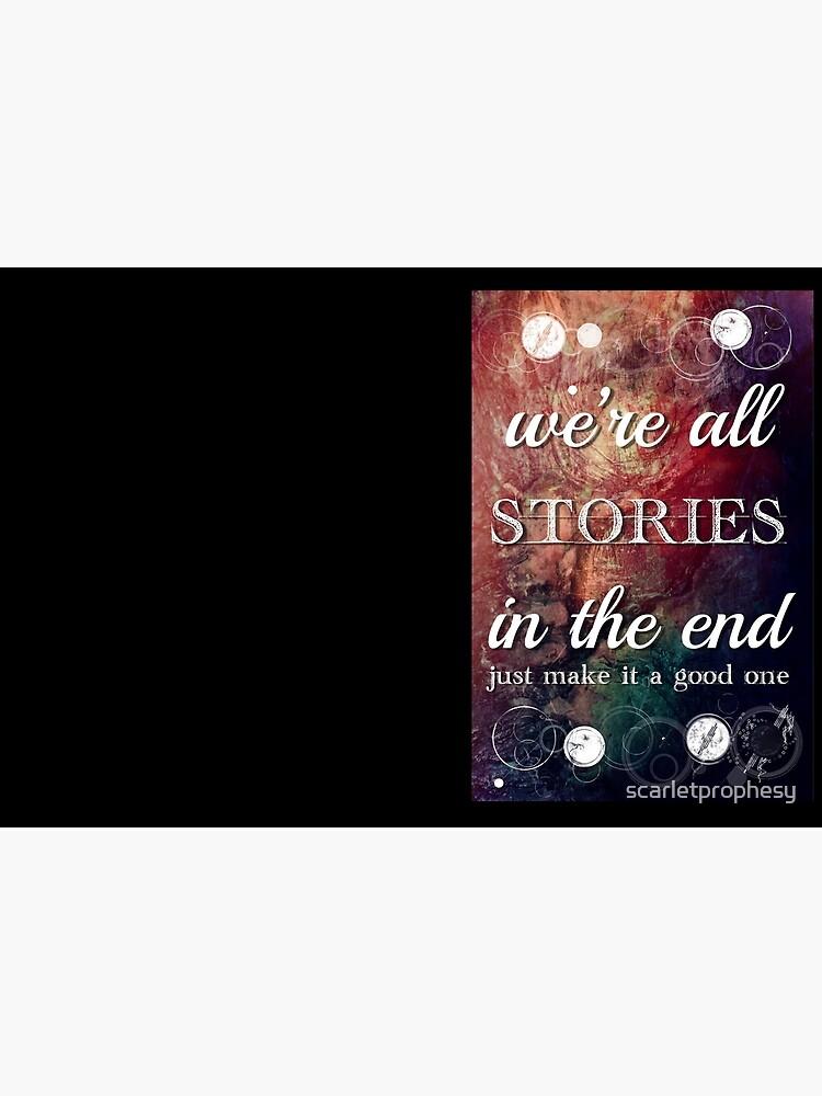 Todos somos historias al final de scarletprophesy
