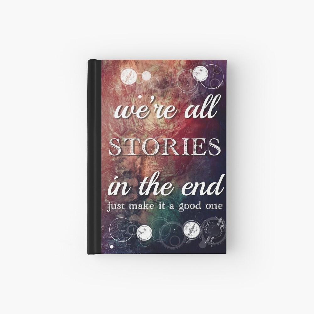 Todos somos historias al final Cuaderno de tapa dura