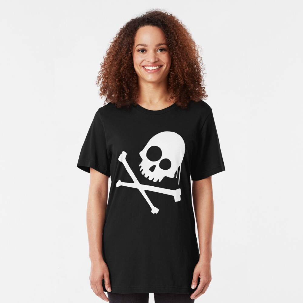 He's a Pirate. Slim Fit T-Shirt