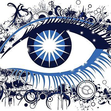 Magic eye by Adracir