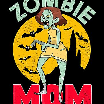 Halloween Sleep Deprived Zombie Mom by donpakito
