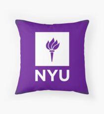 New York University  Throw Pillow
