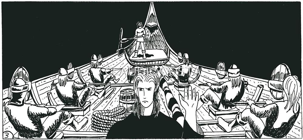 "Vikings ""ship in the dark"" by CLAUDIO COSTA"