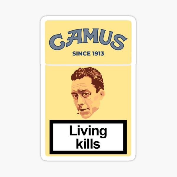 Philosopher Albert Camus Sticker