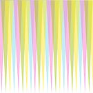 Pastel Retro Triangle Trim by ChristaJNewman