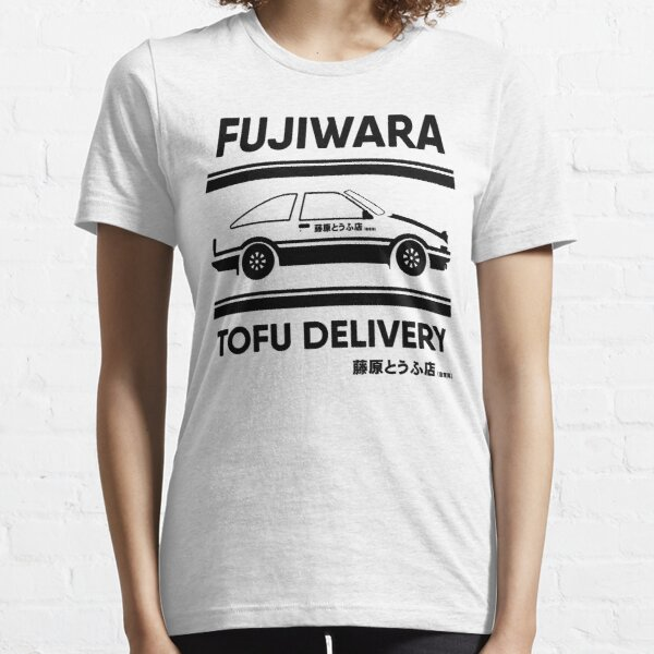 AE86 Tofu - Initial D Essential T-Shirt