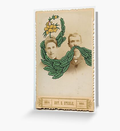 Man and Wife Greeting Card