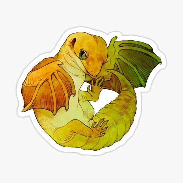 Wyvern Gecko Sticker