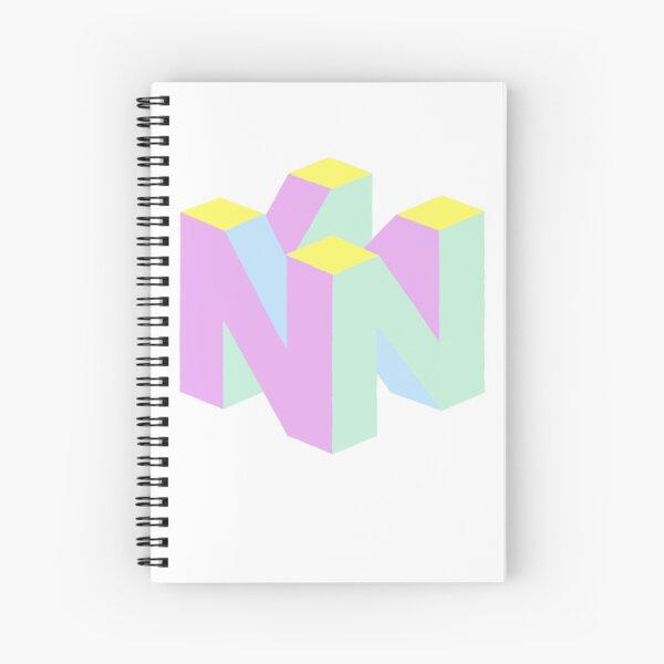 Pastel Nostalgia  Spiral Notebook