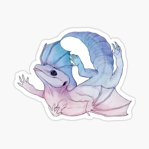 Dragon Gecko Sticker