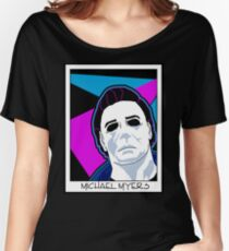 Michael Myers in the 80's Women's Relaxed Fit T-Shirt