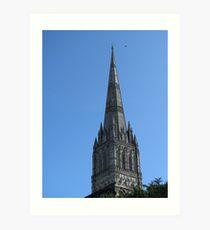 Salisbury Cathedral Spire Art Print