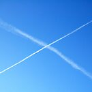 saltire in the sky by funkybunch