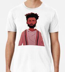 Kindisch Gambino fühlt sich wie Sommer Männer Premium T-Shirts