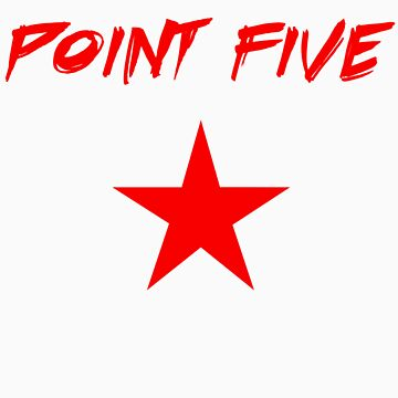 Red Point Five Star logo by krazee2dope