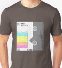 betamaxisbetter Unisex T-Shirt