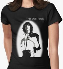 Patti Smith 3 Womens Fitted T-Shirt