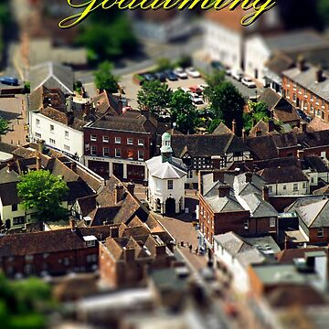 Pepperpot at Godalming High Street Surrey England  by Picturestation
