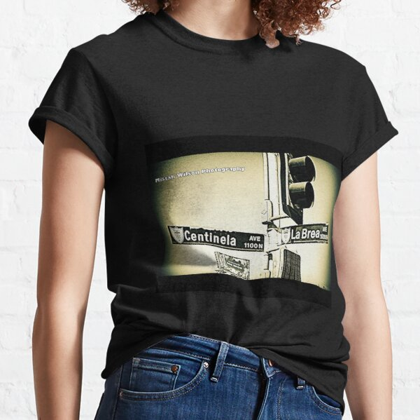 Centinela & La Brea, Inglewood, CA by Mistah Wilson Photography Classic T-Shirt