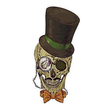 Sophisticated Skull by JbandFKllc