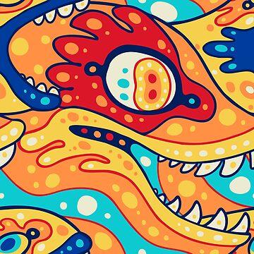 Fishy - orange by psychonautic