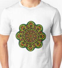 Tropical Jungle Mandala Camiseta unisex
