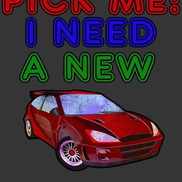 Pick me to win a car  by AlaskaCC