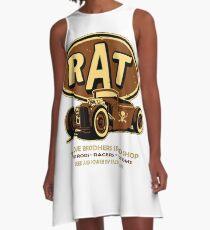 Hot Rods A-Line Dress
