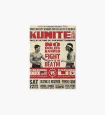Kumite Galeriedruck