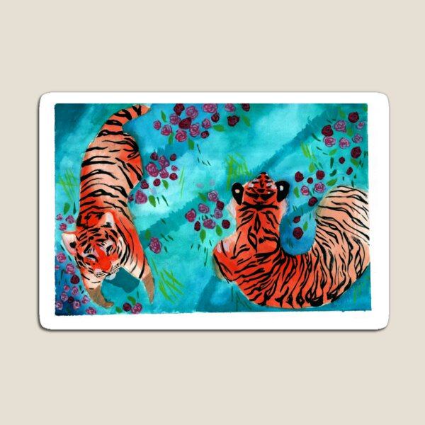 Tigers Magnet