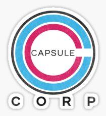 Capsule Corp Logo DBZ Sticker