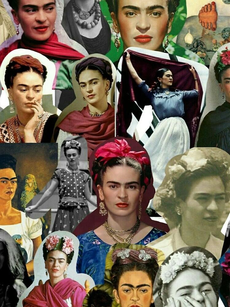 Frida Collage  by historicalstuff