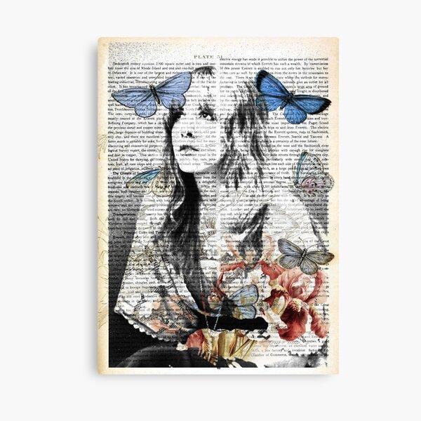 Stevie Nicks Vintage Print Canvas Print