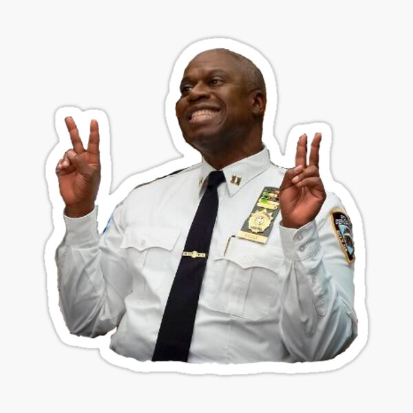 captain raymond holt Sticker