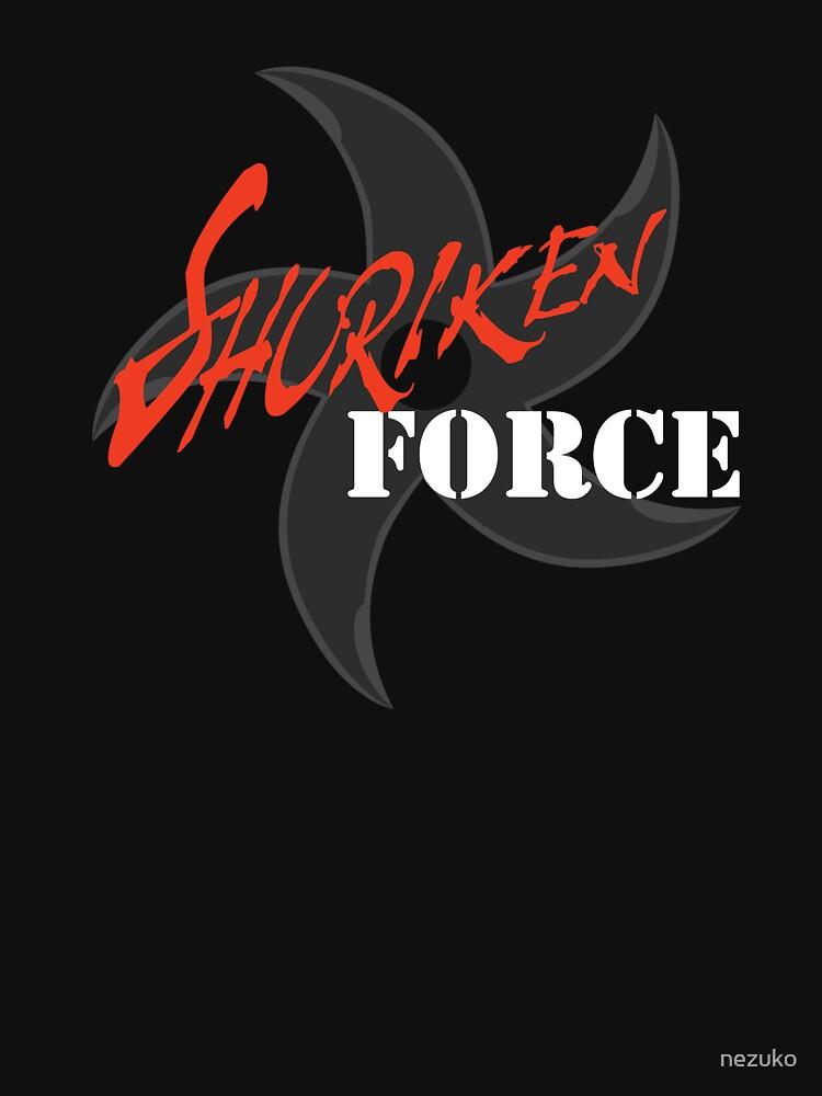 Shuriken Force by nezuko