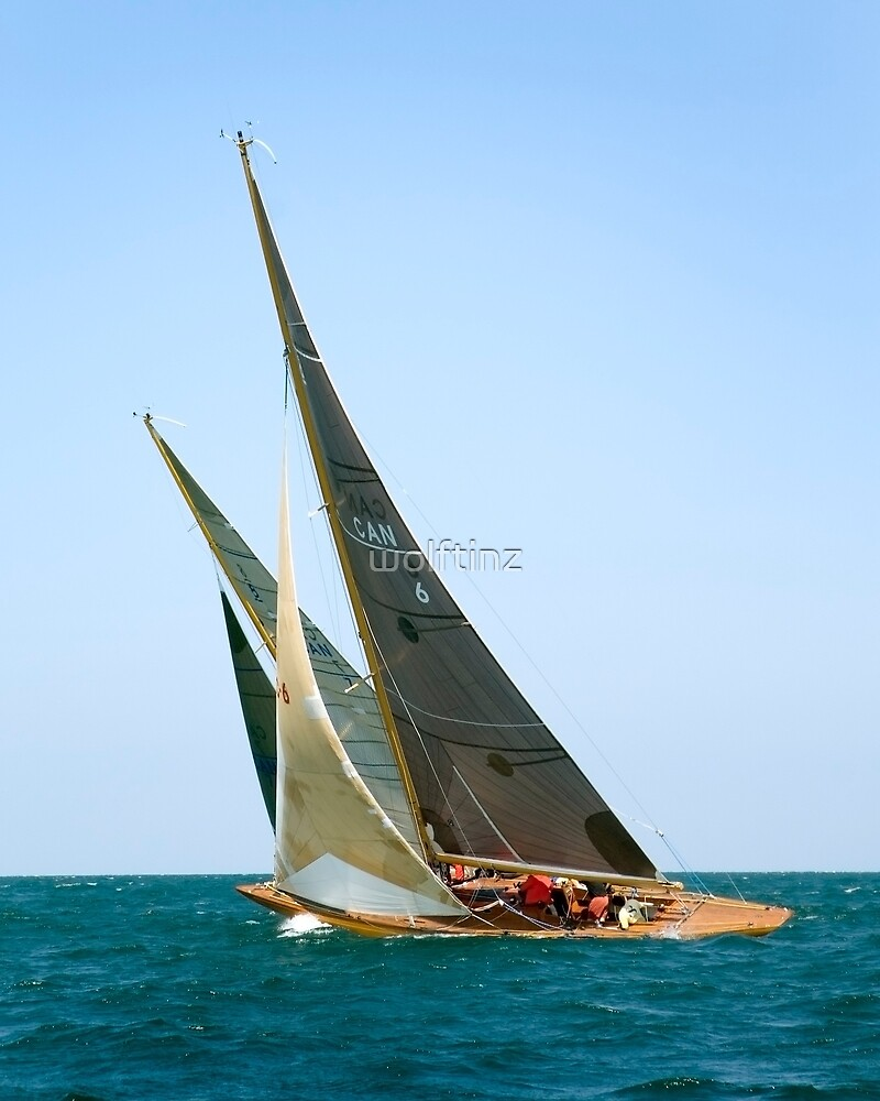 Wind, Waves and Sails by wolftinz