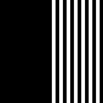 Black and White Stripes by sugarhai
