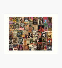 Rock n' roll stories Art Print