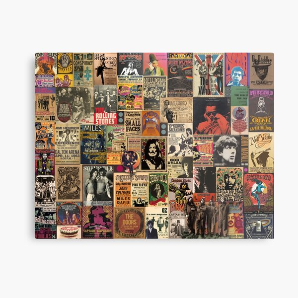 Rock n' roll stories Metal Print