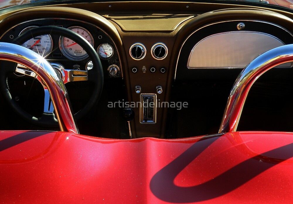 Corvette Sting Ray ~ Part Three by artisandelimage