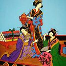Three Geishas by Shulie1