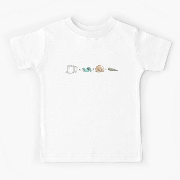 3 Seashells Kids T-Shirt