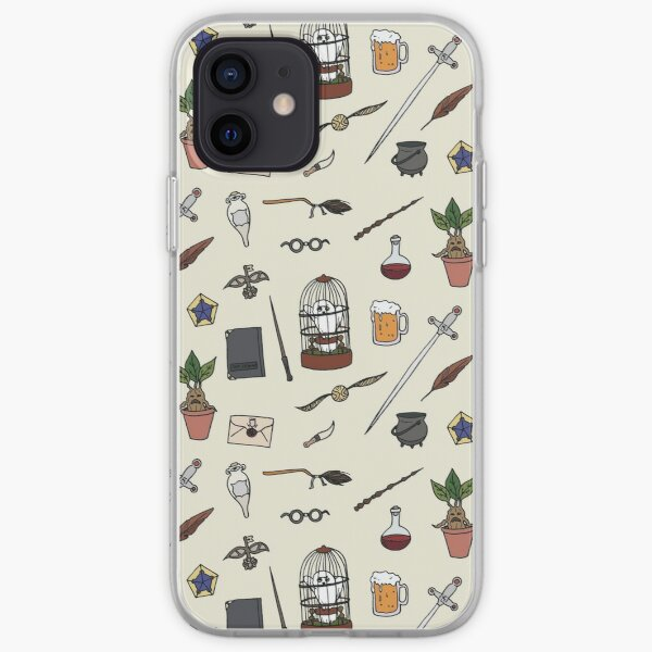 Owl and wand iPhone Soft Case
