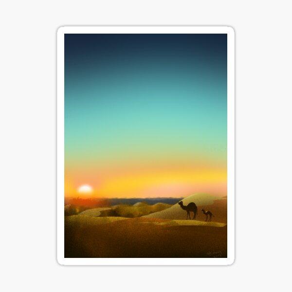 Sahara Sunset Sticker