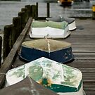 Boats at woods hole 2 by Douglas Gaston IV