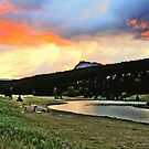 Fire in The sky. by Christopher B Smyth